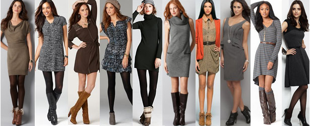 Dresses with boots